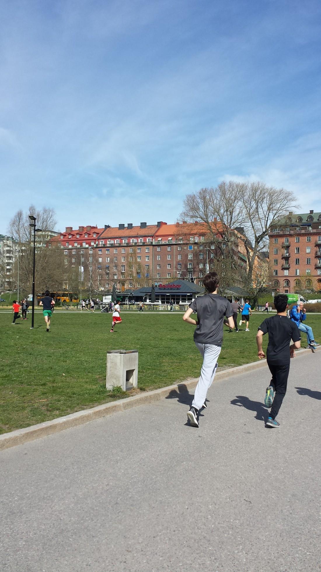 Träning i parker